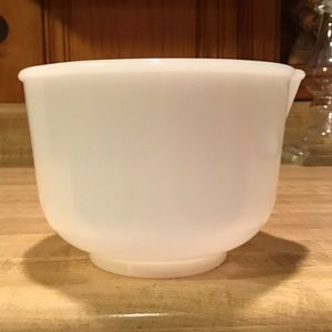 Vintage Glasbake For Sunbeam Mixing Bowl
